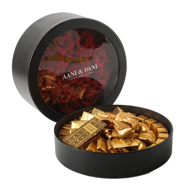Red Rose Chocolate Circle Gift 800g